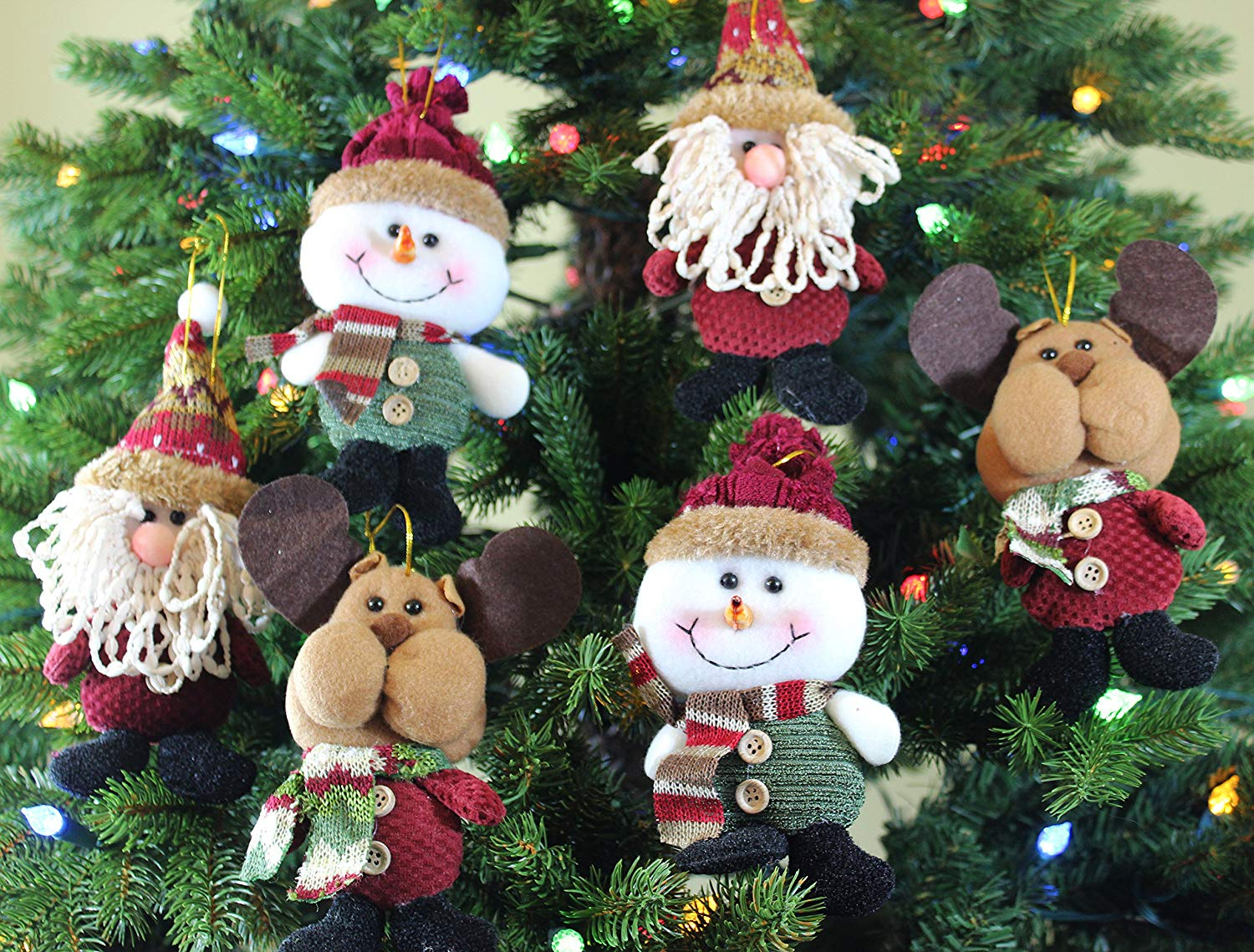 Hanging Christmas Ornament Sets