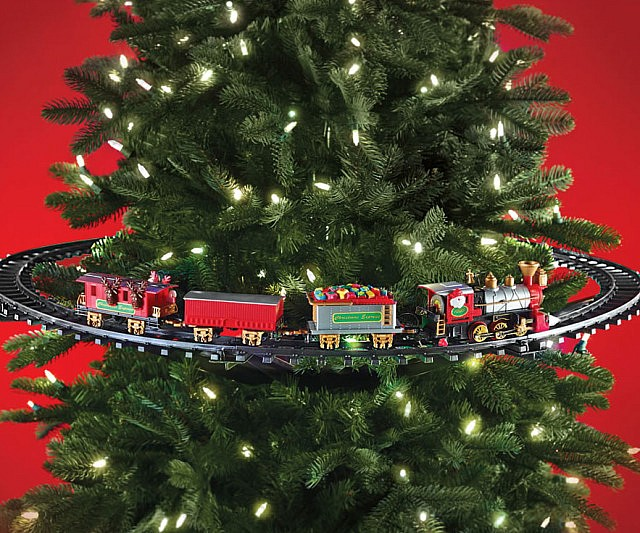In-Tree Christmas Train