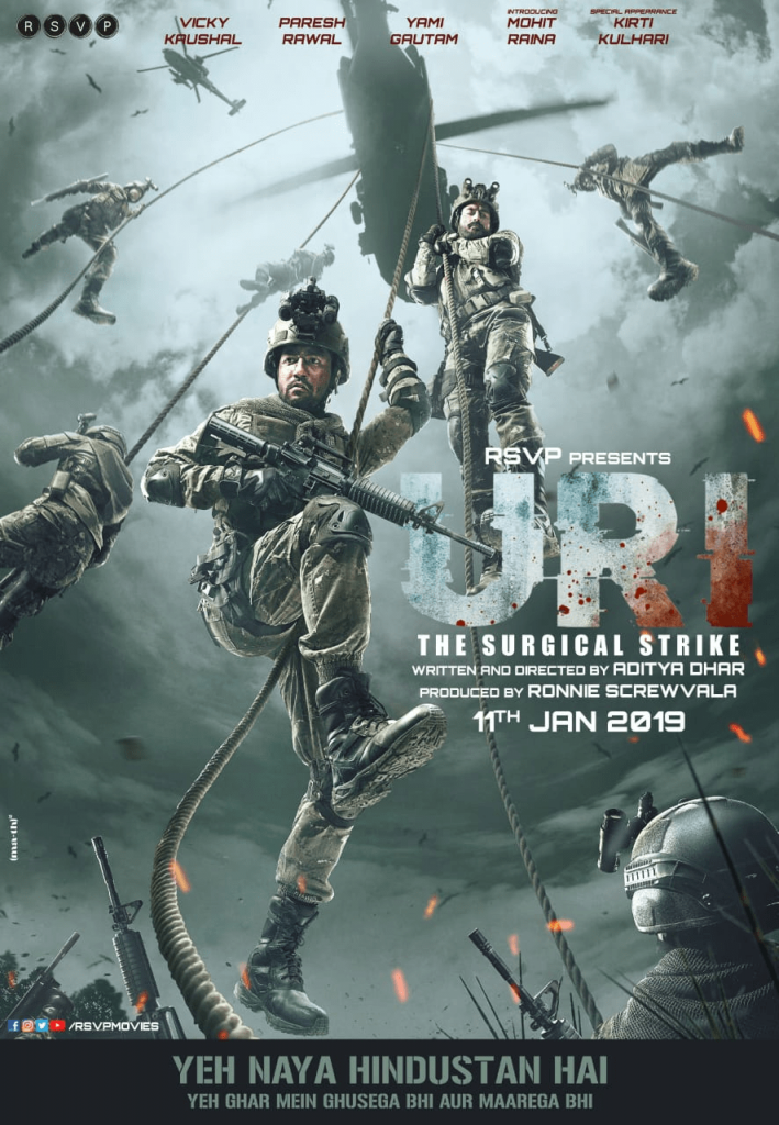 "Watch Movie ""URI:The Surgical Strike"" This Weekend A Technically Brilliant Action Film"