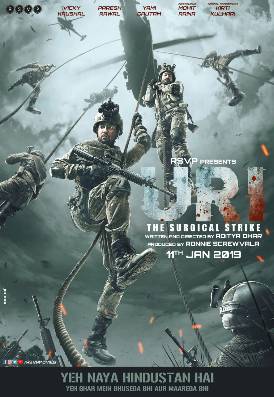 New Bollywood Movie Trailer Of 'URI'_1