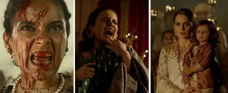 Watch New Bollywood Movie Trailer Of 'Manikarnika' Where Kangana Ranaut Ready For An Epic War