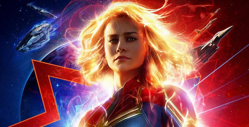 "Watch Movie ""Captain Marvel"" This Weekend : Brie Larson Channels Her Rage And Wins Hearts"