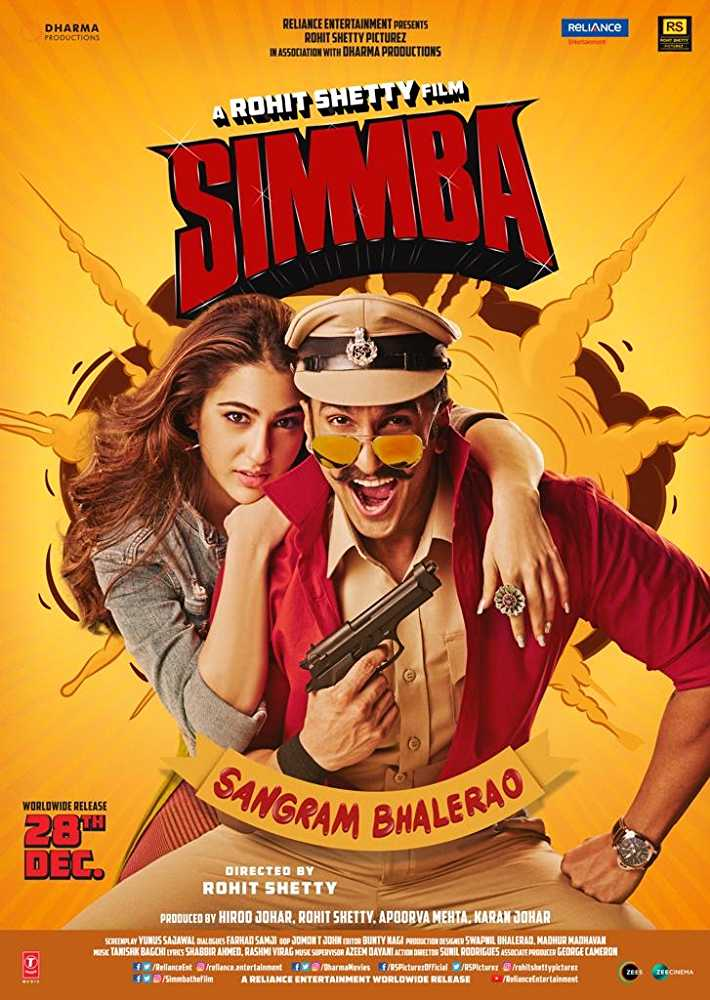 Watch Movie 'Simmba' This Weekend_1