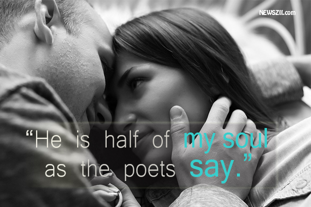 as the poets say