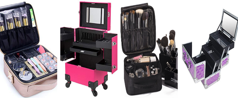 Top 15 Best Professional Makeup Cases In 2019 With Review