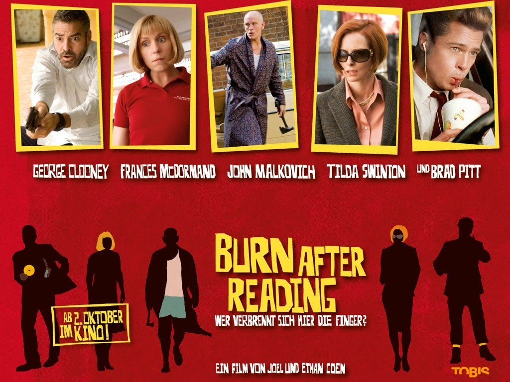 "Watch Movie The ""Burn After Reading"" This Weekend On Amazon Prime"