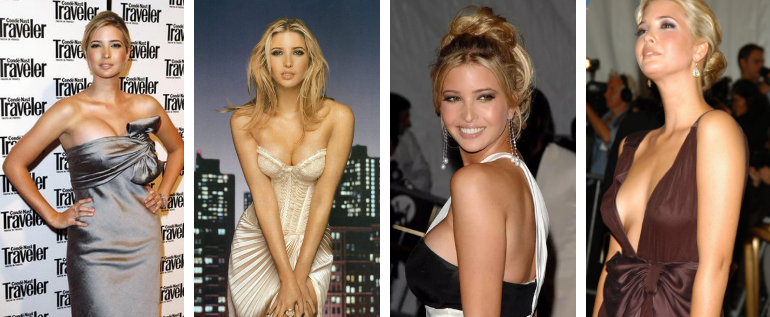 Hot Photos Of Ivanka Trump Showcasing Her Boobs