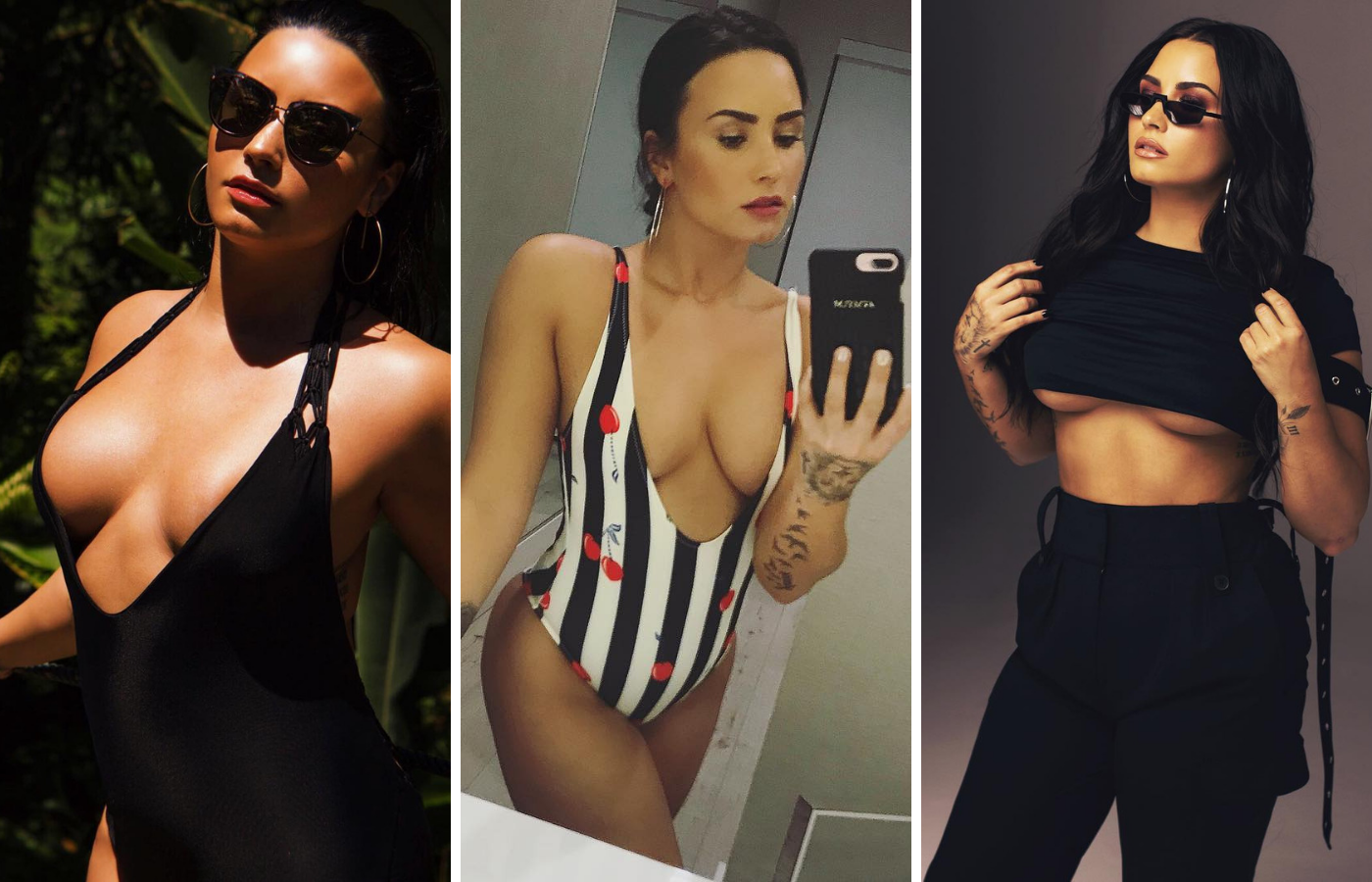 Hottest Demi Lovato Pictures Shed Light On Her Big Booty