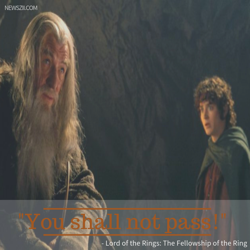- Lord of the Rings: The Fellowship of the Ring