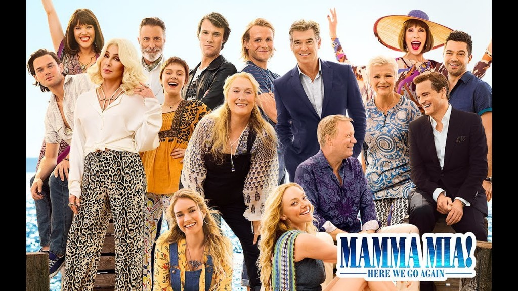 "Watch Movie ""Mamma Mia! Here We Go Again"" This Weekend On Amazon Prime"