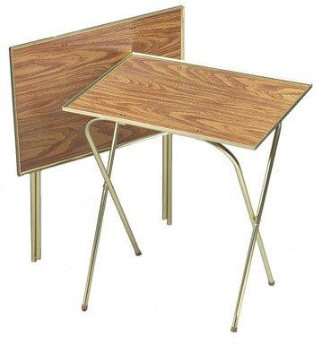 Quaker Tray Table Honey Oak