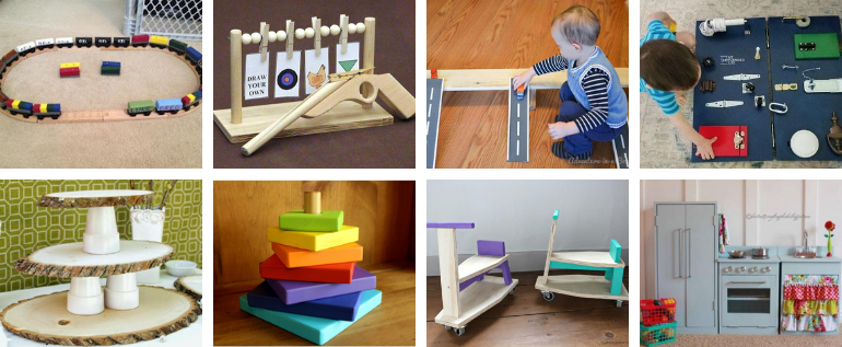 23 Best DIY Woodworking Gifts For Kids (Inexpensive Homemade Toys)