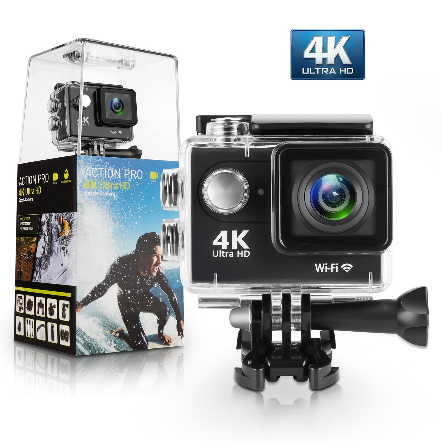 Waterproof 4K Camera UltraHD
