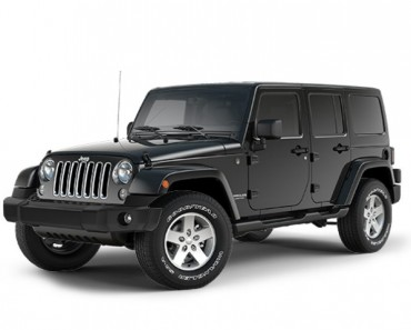 Jeep Wrangler with jumbo features