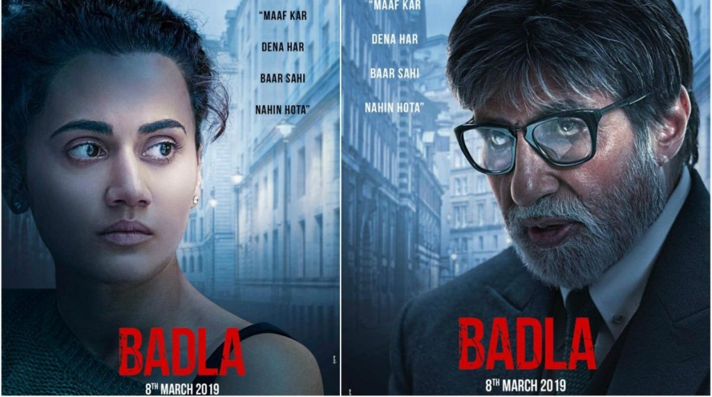 Watch Movie 'Badla' This Weekend : Amitabh Bachchan And Taapsee Starrer Mystery Thriller Is Captivating
