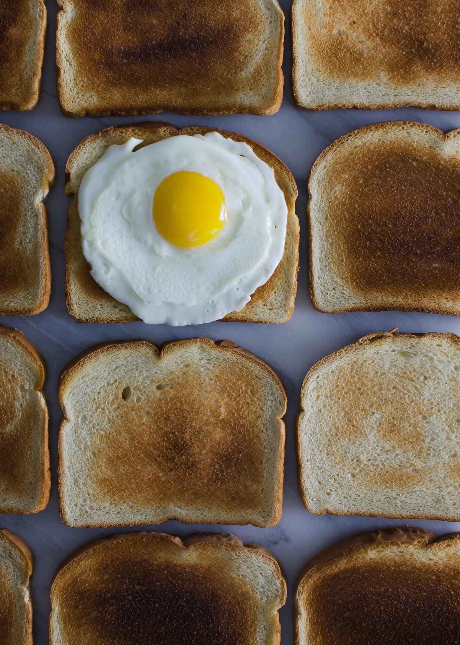 Making Toast Without Burning