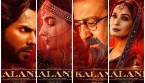 New Bollywood Movie Teaser Of 'Kalank'