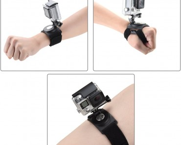 Pieviev GoPro Wrist Strap Mount Strip Belt with Screw for GoPro