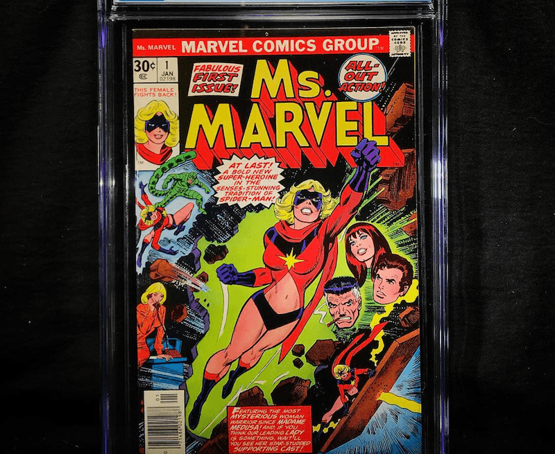 She Was First Called Ms. Marvel
