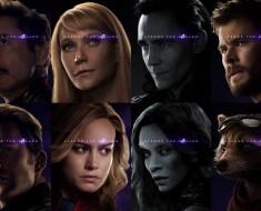 Avengers-Endgame Character Posters