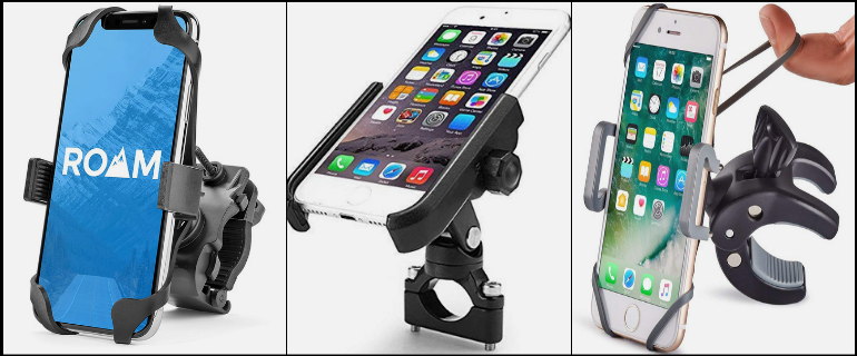 Metal-Bike-Motorcycle-Phone-Mount