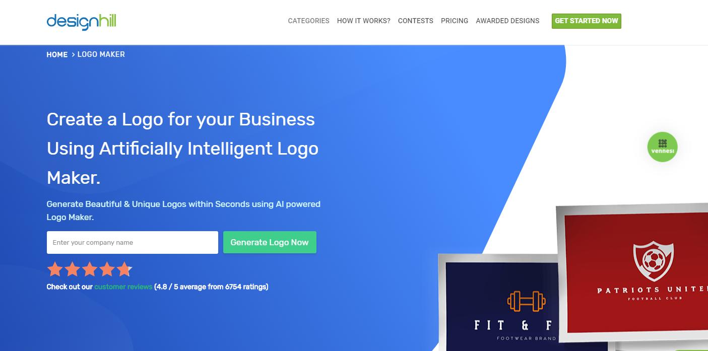 Designhill— Logo Maker