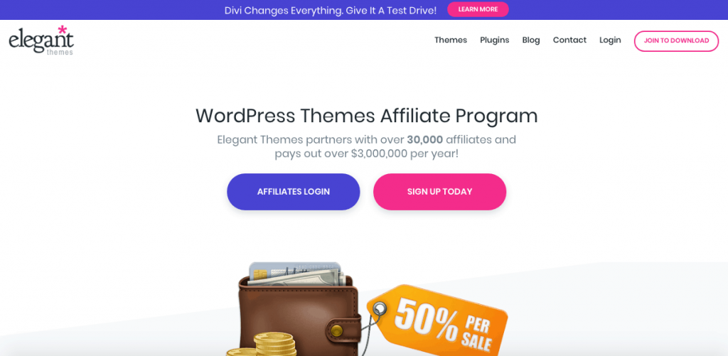 ElegantThemes Referral Program