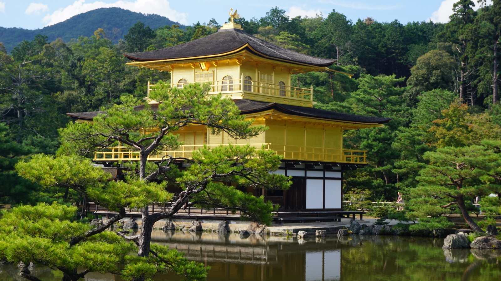 Tourist Destinations In Kyoto- Kinkakuji Temple