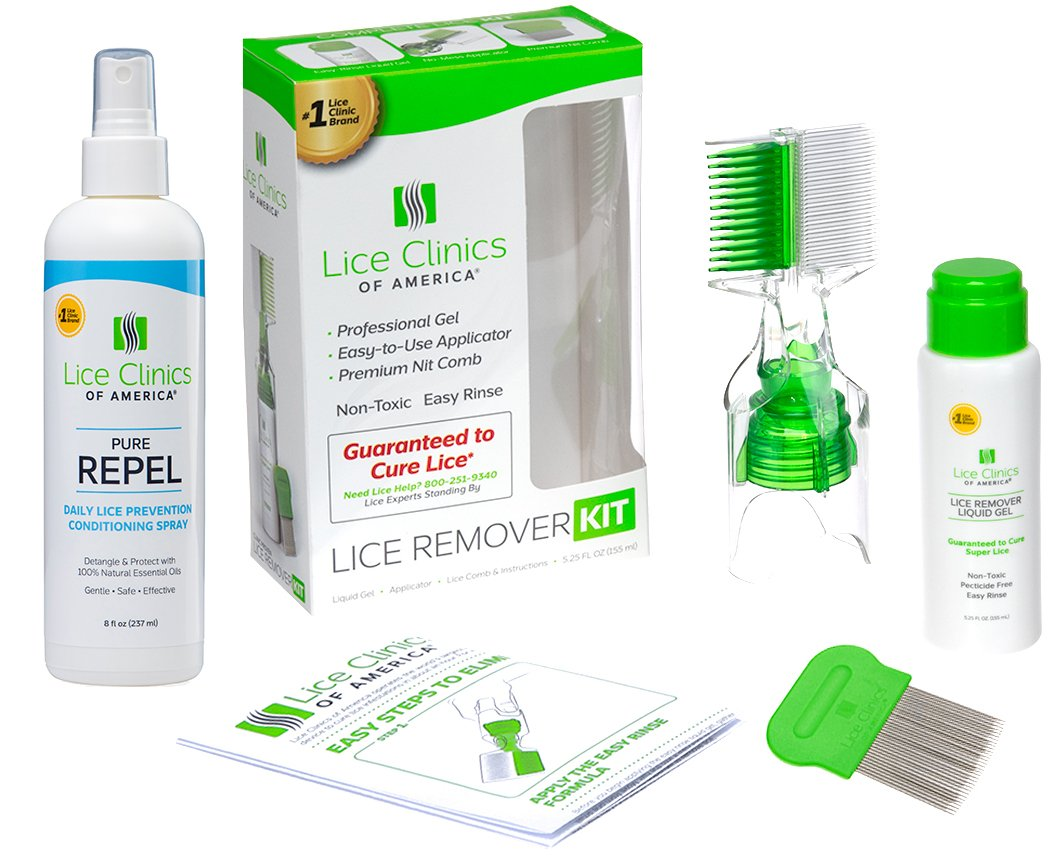 Lice Treatment Kit by Lice Clinics-Guaranteed to Cure Lice