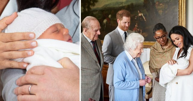 Meghan And Harry's Son Named Archie Harrison