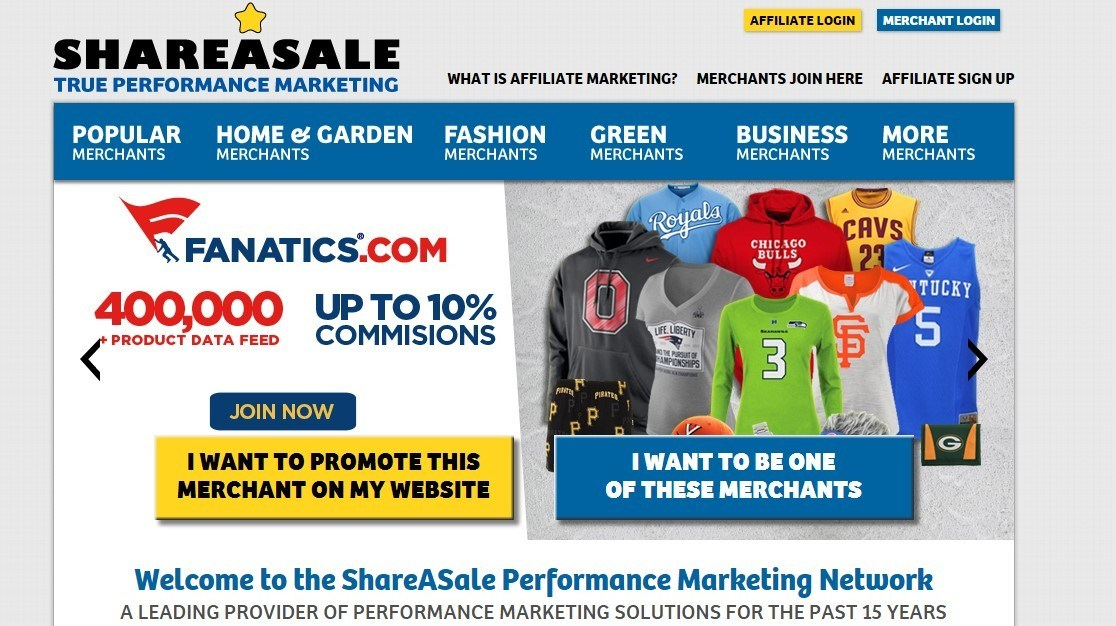 ShareASale Referral Program