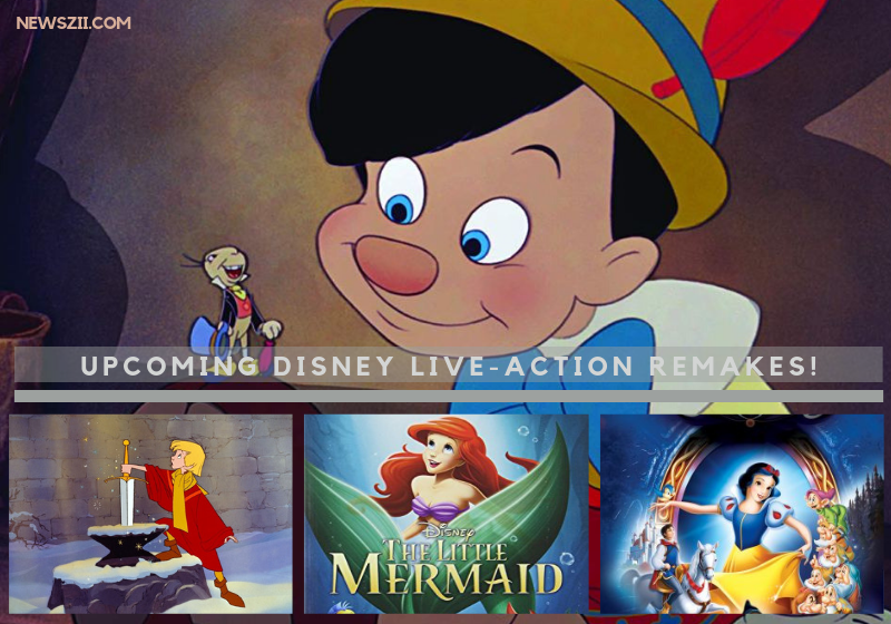 Upcoming Disney Live-Action Remakes
