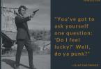 —Clint Eastwood