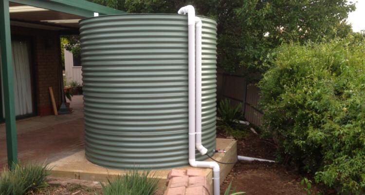 Install Rainwater Tanks