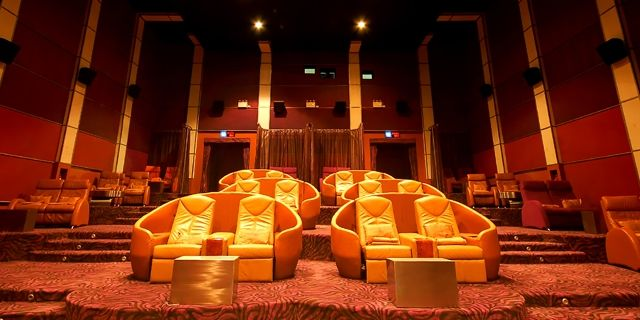 Bangkok Airways Blue Ribbon Cinema Screens