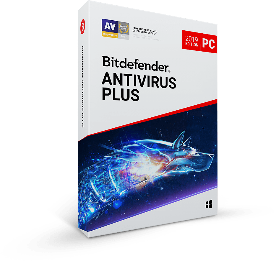 Bitdefender Antivirus Plus 2019 For Window