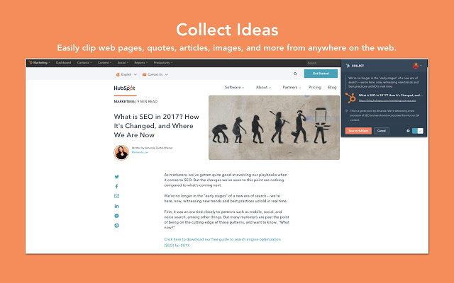 HubSpot Collect - Best Plugins For Chrome