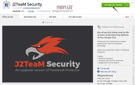 J2TEAM Security - Best Plugins For Chrome