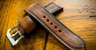 Leather Made Custom Watch Strap