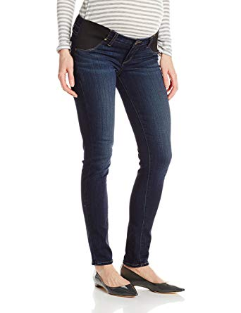 PAIGE Women's Maternity Verdugo Ultra Skinny with Elastic Insets in Nottingham