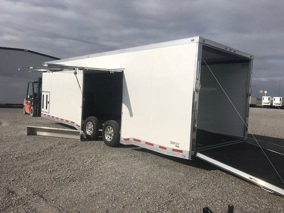 Right Enclosed Trailer