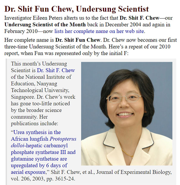 Dr. Shit Fun Chew