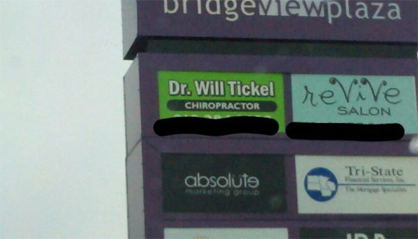 Dr. Will Tickel