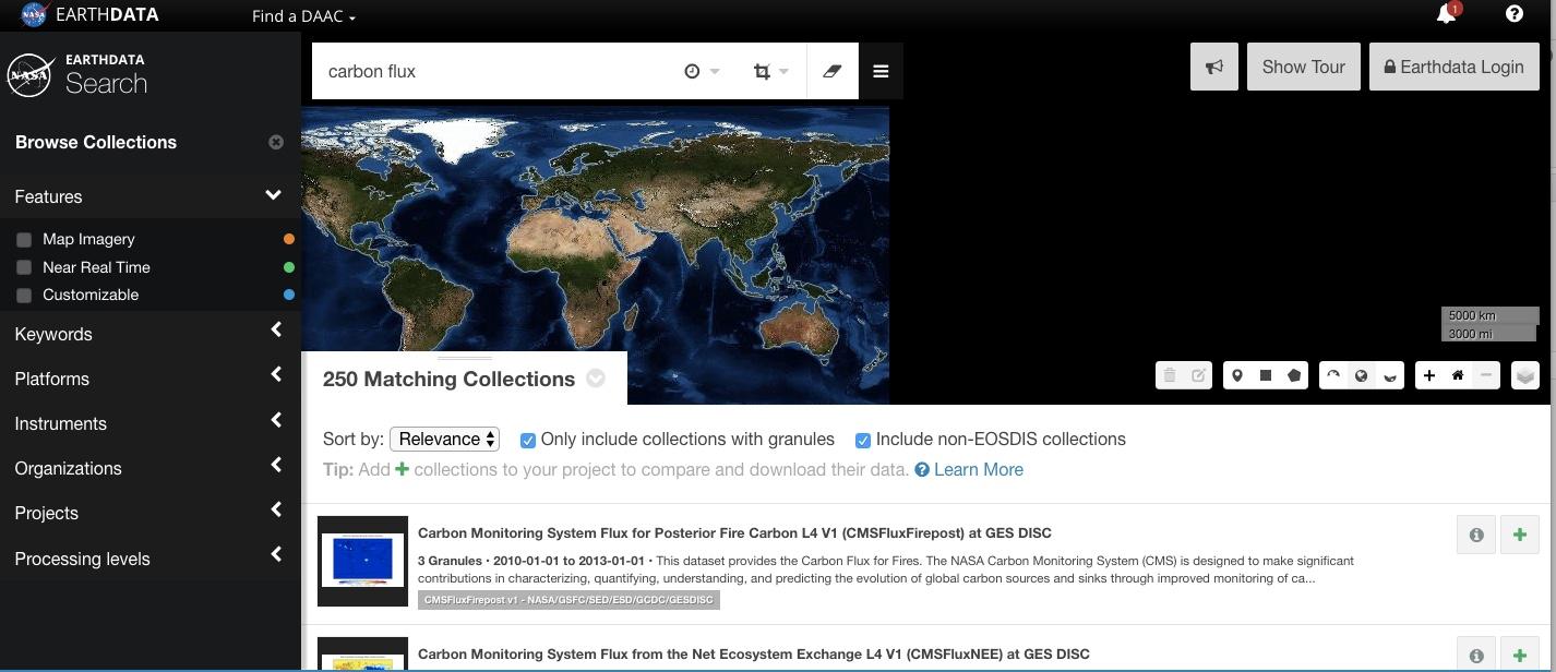 Earth Data by NASA