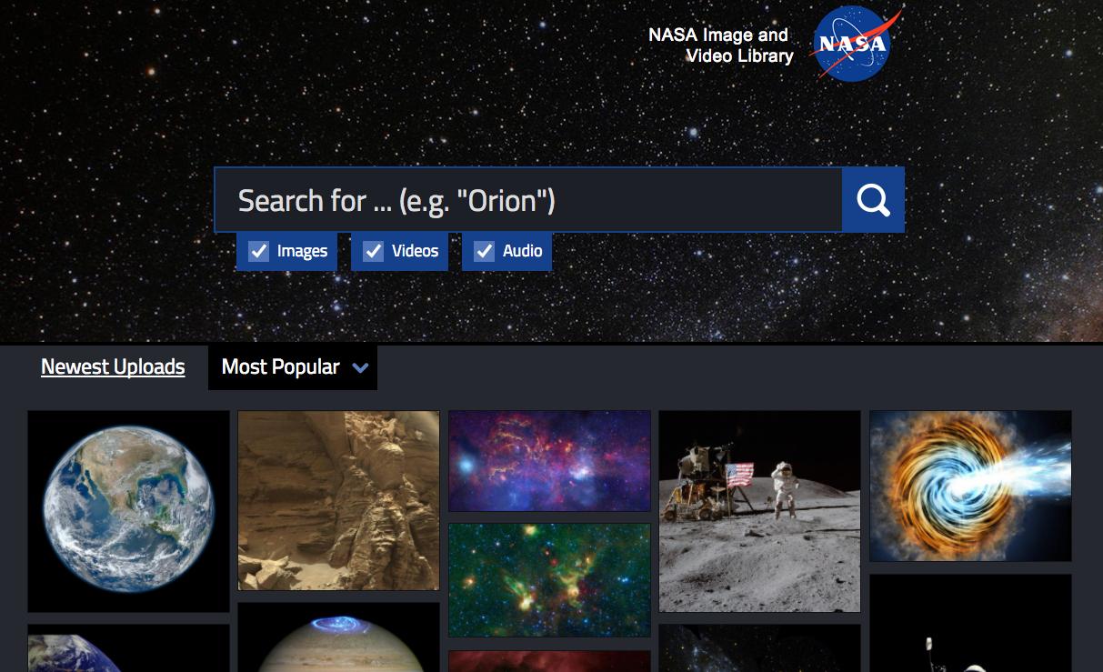 NASA Image And Video Library