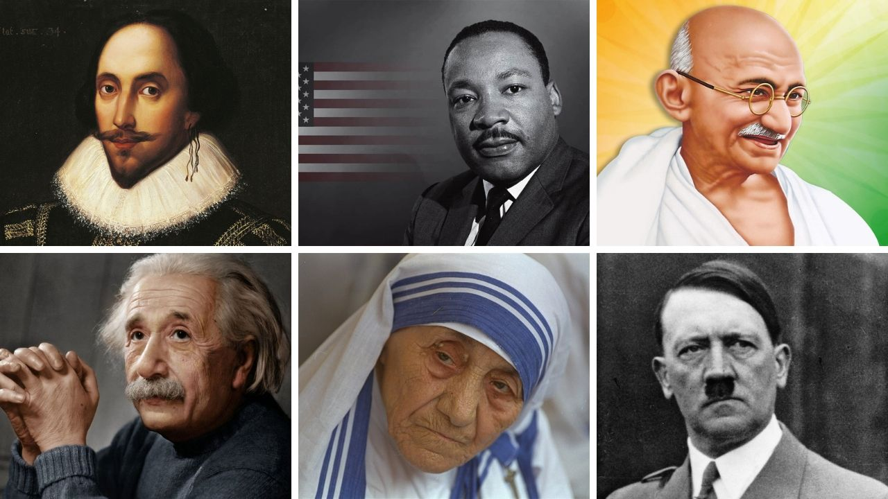 Top 10 People Who Changed The World