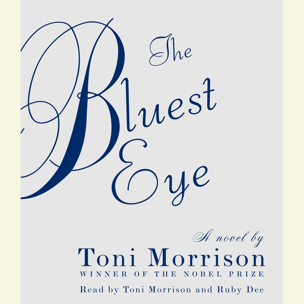 Toni Morrison (The Bluest Eye)