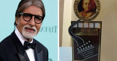DadaSaheb Phalke award- Amitabh Bachchan Dadasaheb Phalke Award