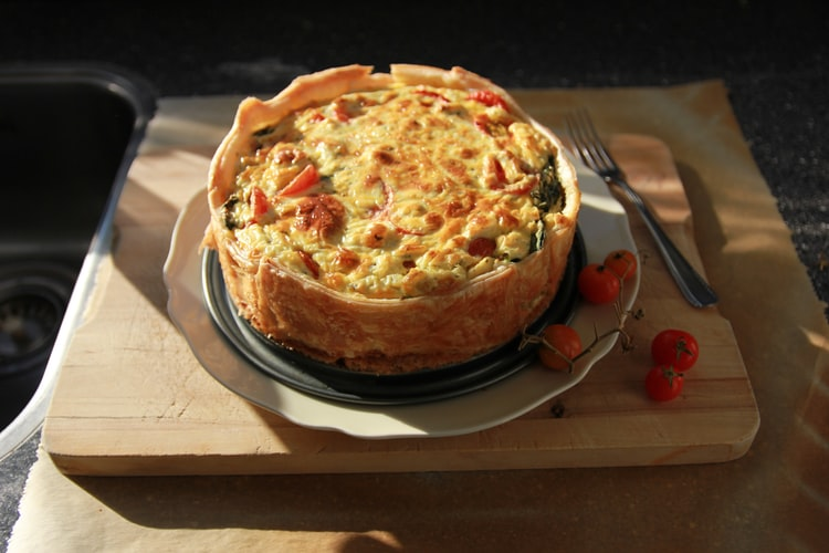 Sausage And Leek Pie - Recipe For Winter