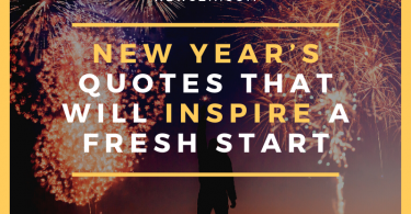 New Year's Quotes That Will Inspire A Fresh Start